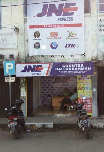 1000 Bisnis Di Aceh Jne Counter Baiturrahman