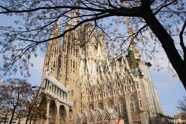 La Sagrada Familia simbolo di Barcellona