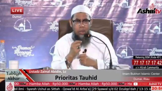 """Heboh Ustaz Salafi Ini Sebut Lagu """"Balonku"""" Ajarkan Kebencian Islam"""