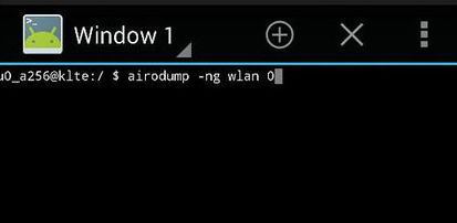 Hacking WEP type WiFi Using Android Phone