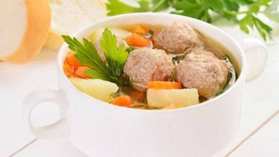Cara Membuat Sup Bola Daging Ayam