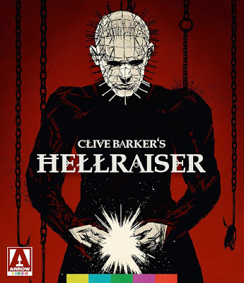 Cover art for Arrow Video's Special Edition of Clive Barker's HELLRAISER.