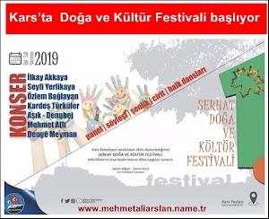 Kars ta  Doğa ve Kültür Festivali başlıyor