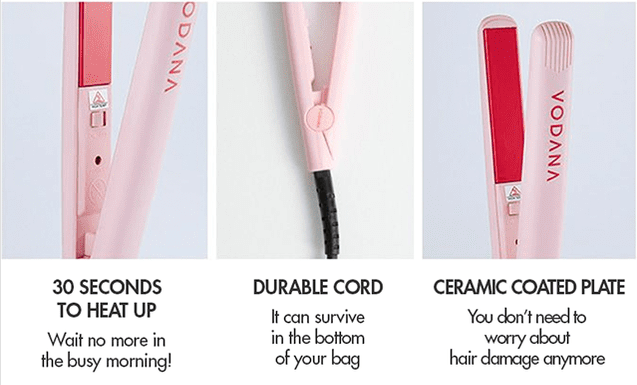 Vodana hair Straightener
