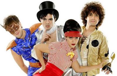 Foto de integrantes de Miranda con sesión fotográfica