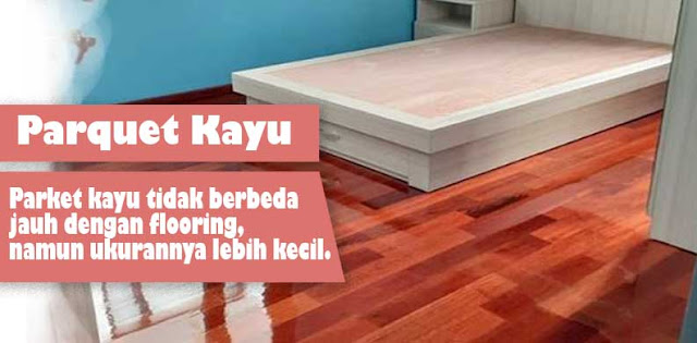 jual lantai kayu parket