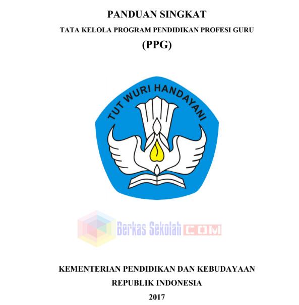 Panduan Tata Kelola PPG Tahun 2017 Format PDF