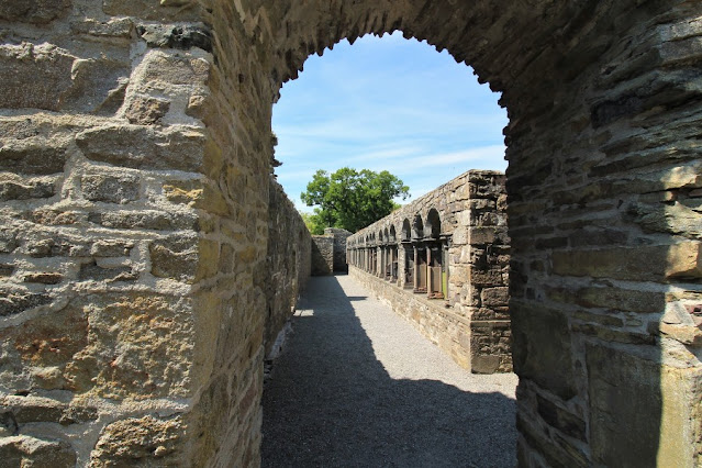 Arch leading to Cloister Jerpoint Abbey