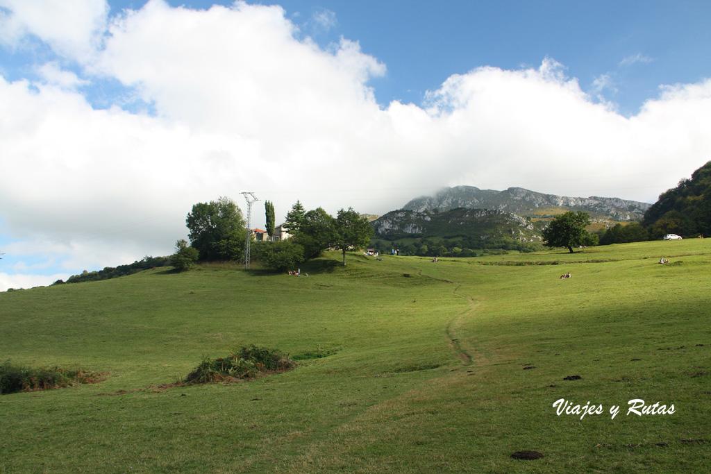 Praderías de la Ruta de las Xanas, Asturias