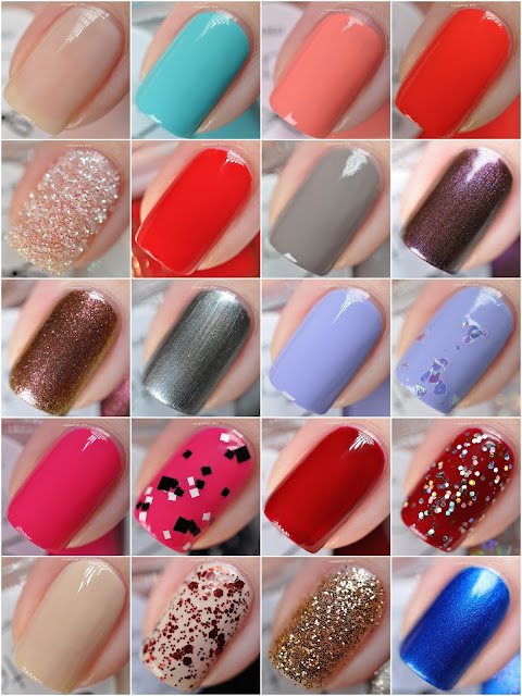Ciaté London Mini Mani Month Calendar 2015
