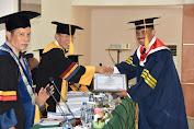 Laksma TNI Suradi Agung Slamet, S.Sos., S.T., M.M. Raih Gelar Doktor di IPDN