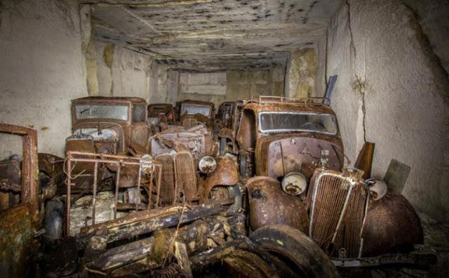 Склад ретро-машин нашли через 80 лет