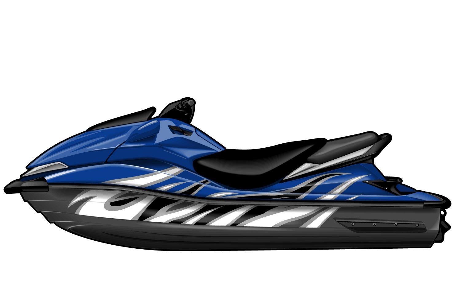 Kawasaki jet ski ultra graphic kit ek0002u2