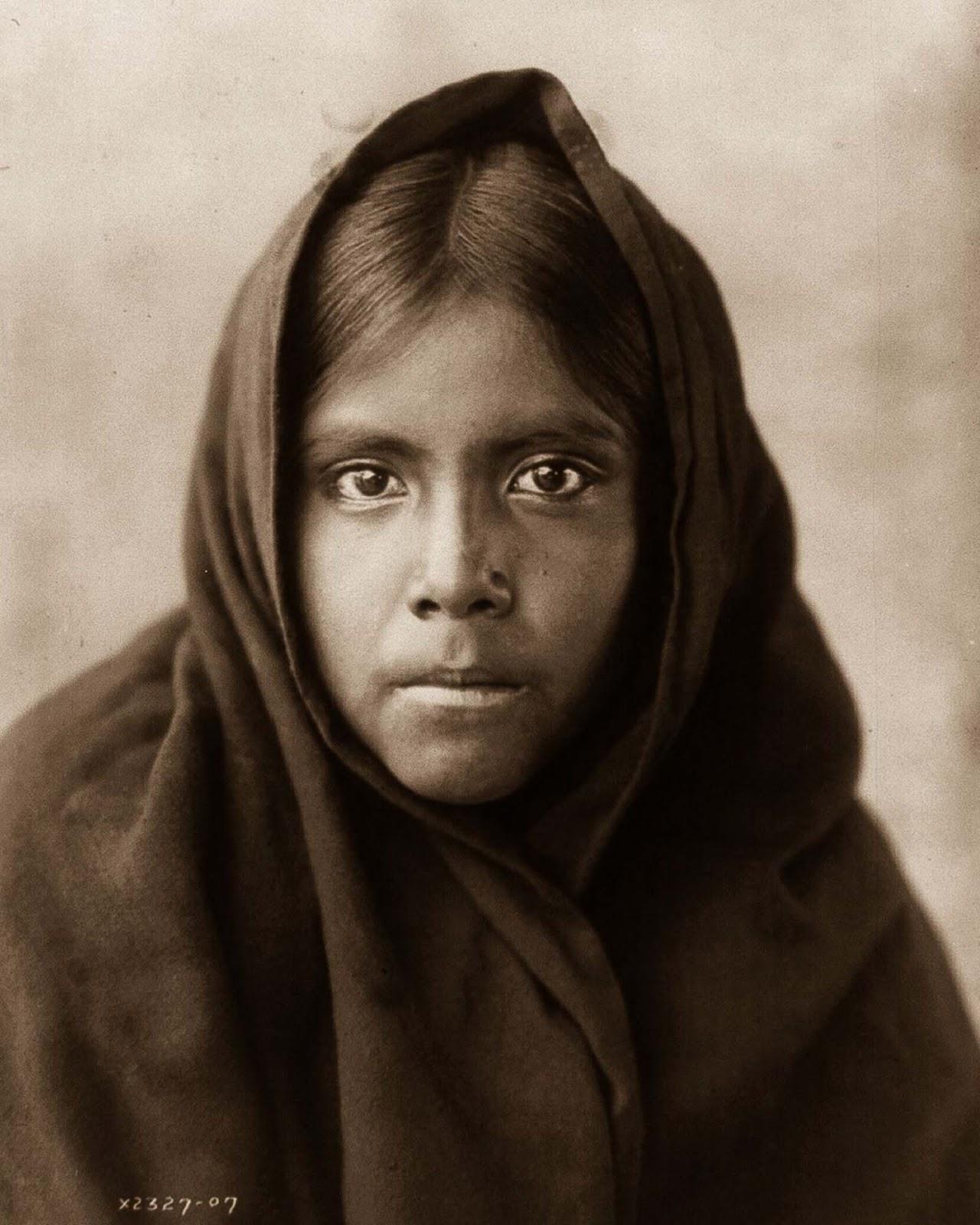 A Qahatika girl. 1907.