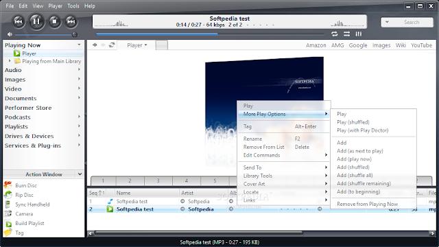 تحميل برنامج مشغل الاغاني اخر اصدار J. River Media Center 21.0.65