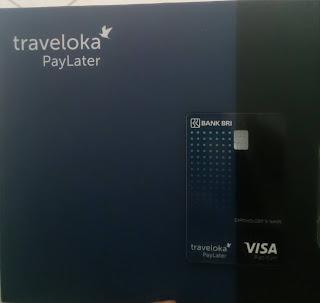Traveloka paylatter card
