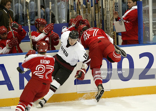 Олимпийская сборная Латвии по хоккею 2002