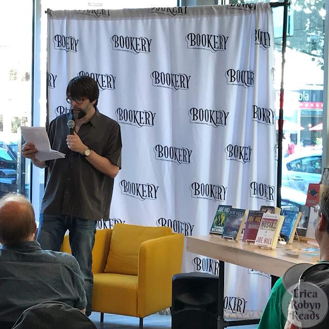 Joe Hill reading his story from Flight or Fright