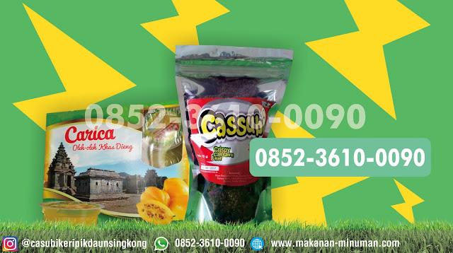 Jual makanan ringan murah, jual manisan carica dieng, 0852-3610-0090