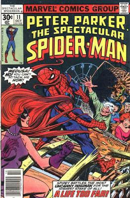 Spectacular Spider-Man #11, Medusa