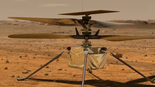 Helicopter Ingenuity from Mars in first message sent to NASA, know what is its work on Red Planet