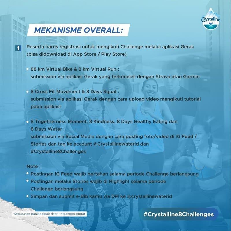 Mekanisme Crystalline 8 Challenges • 2020