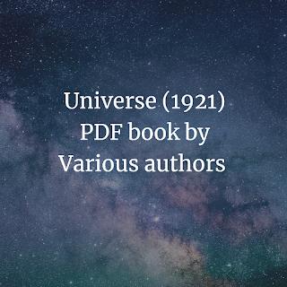 Universe (1921) PDF book