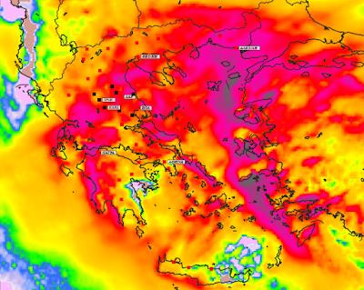 5 - Υψηλές θερμοκρασίες και επιλεκτικές βροχές την Παρασκευή