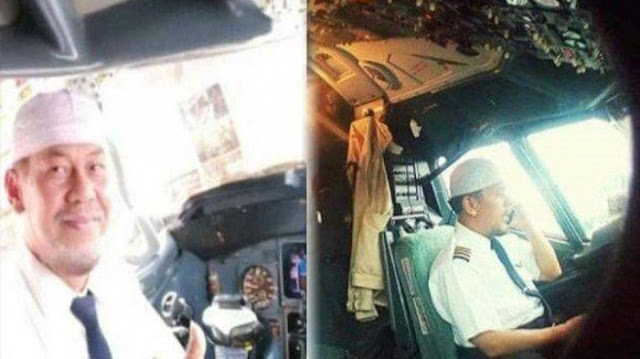 Tak Seperti Biasanya, Pilot Sriwijaya Ini Pakai Baju Tak Disetrika dan Sampaikan Permintaan Maaf ke Istri
