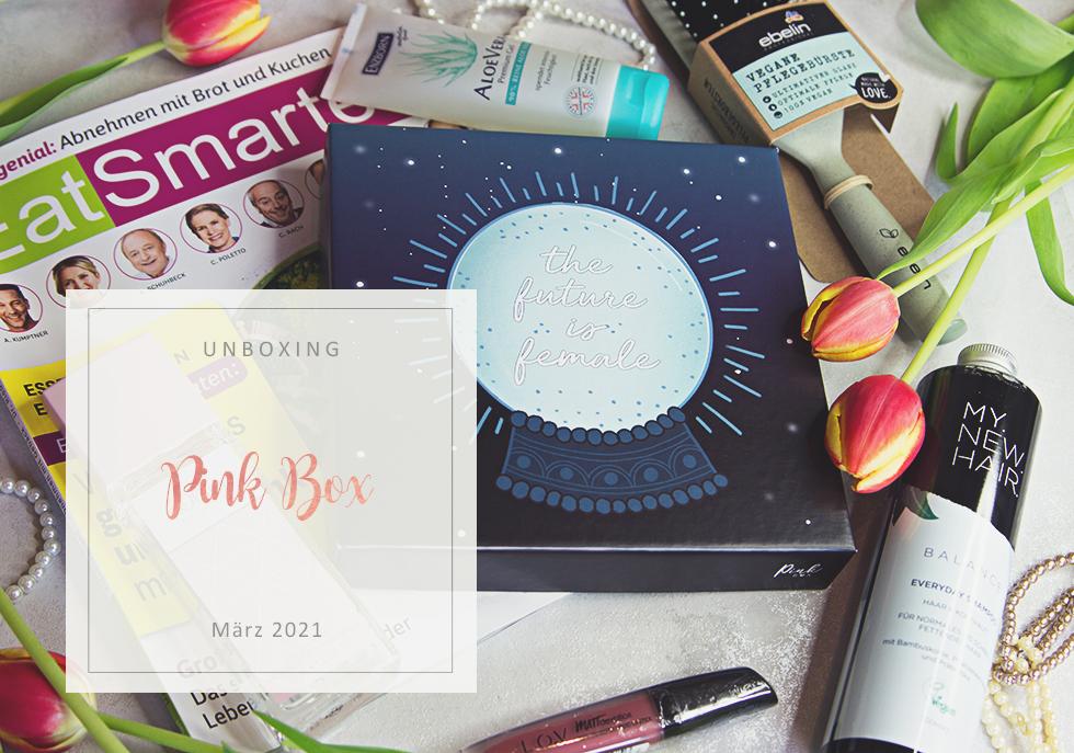 Pink Box - März 2021 - unboxing