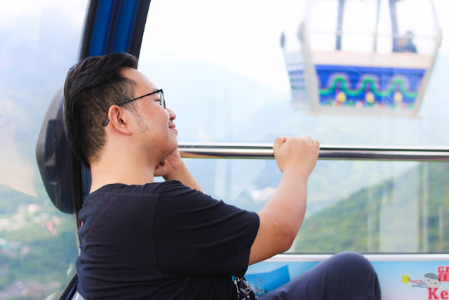 Emil Ong in Ngong Ping 360