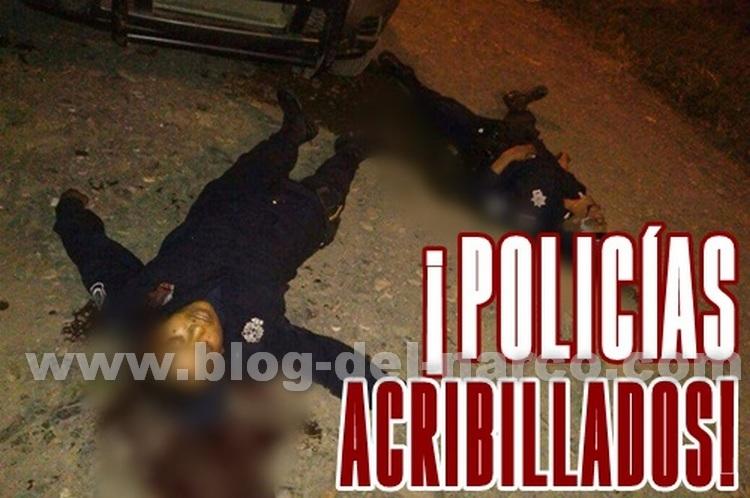 Veracruz: Sicarios ejecutan a dos agentes policiacos, en Cerro Azul