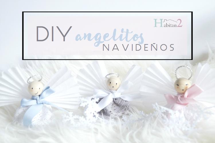 Imagenes De Angelitos Navidenos.Habitan2 Diy Angelitos Navidenos De Madera