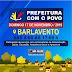 Convite: Projeto Prefeitura com o Povo,  será realizado neste Domingo 17/11, na comunidade do Barlavento