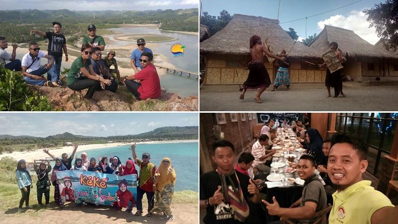 Mengunjungi beberapa destinasi Wisata Lombok Tengah