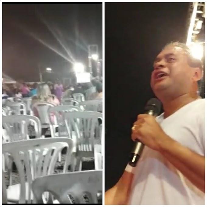 """""""FIASCO"""" - Weverton Rocha esperava 90 prefeitos em Imperatriz, mas só 34 apareceram…"""