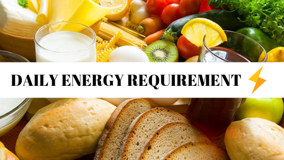 DECODING NUTRITION: HOW WE COMPUTE YOUR DAILY ENERGY REQUIREMENT?