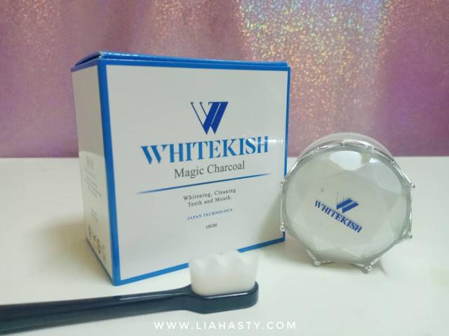 Putihkan gigi anda & tampak berseri dengan produk WHITEKISH