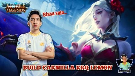 Build Carmilla RRQ Lemon di MPL ID Season 6
