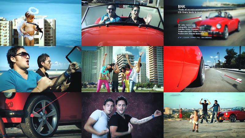 Boni & Kelly (BNK) - ¨Todo el mundo se enamora¨ - Videoclip - Dirección: Julio César Leal. Portal Del Vídeo Clip Cubano