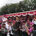 Kapolres Belawan Bagikan Sembako Kepada TNI Marinir AL Dan Wartawan Dalam Menyambut HUT Bhayangkara ke 73