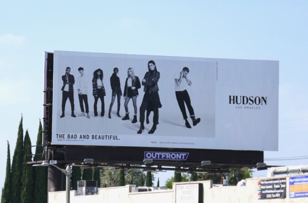 Hudson Jeans Fall 2018 billboard