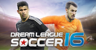 Download Game Dream League Soccer 2016 Mod Unlimited Coins APK+DATA