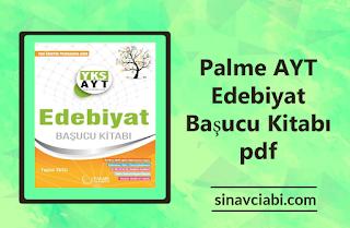 Palme AYT Edebiyat Başucu Kitabı pdf
