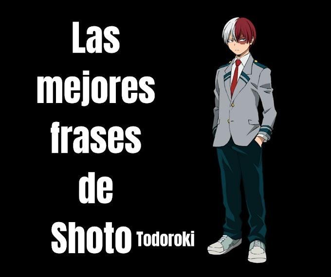 Las mejores Frases De Shoto Todoroki,  My Hero Academia