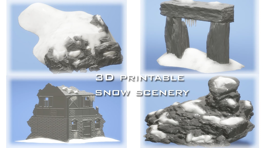 It's just a graphic of Printable Scenery Kickstarter for warhammer 40k