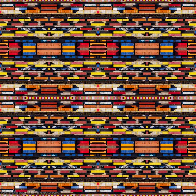 11. Freight containers. (Photo by Paolo Crocetta