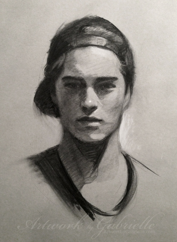 11-Gabrielle-Brickey-Strength-and-Purpose-through Charcoal-Portraits-www-designstack-co