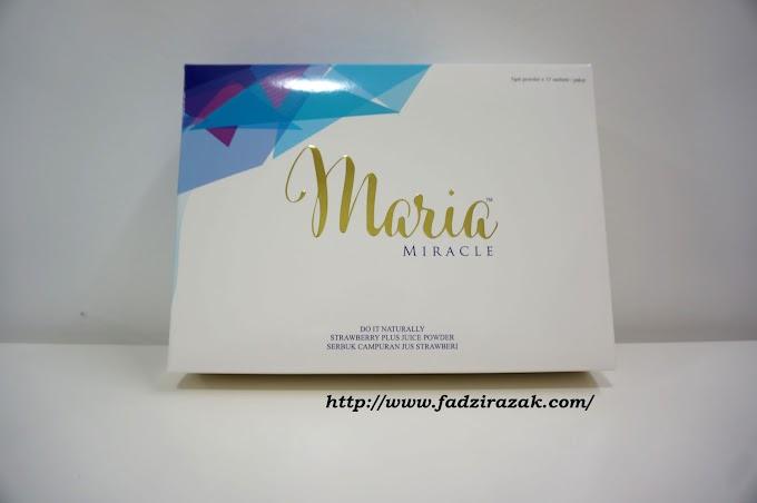 Cara Mudah Nikmati Supplemen Kesihatan - Maria Miracle