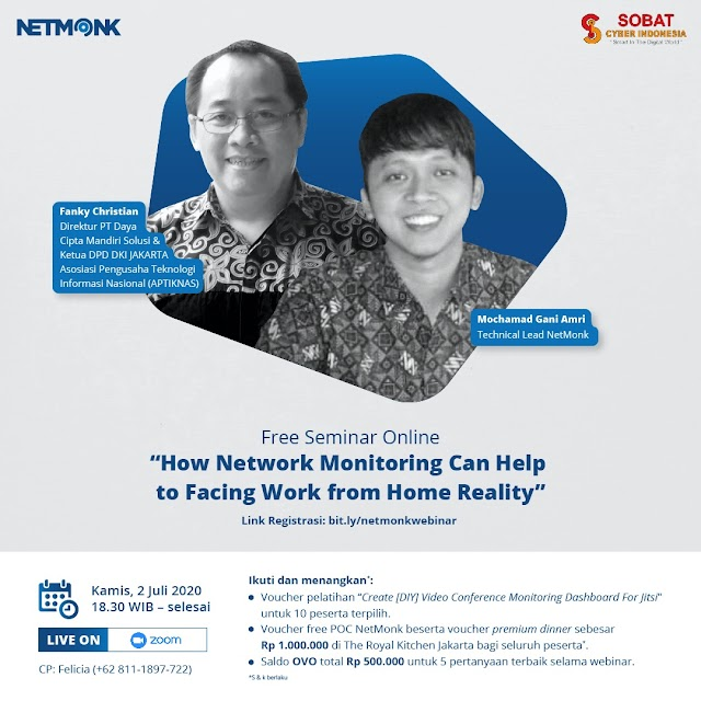 Webinar How Network Monitoring can help to facing Work From Home Realty